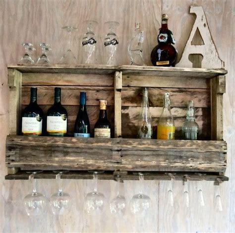 pallet wine shelf quot diy home decor ideas quot