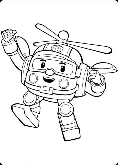 Mainan Anak Robocar Poli Roy Merah Bisa Berubah Jadi Mobil Dan Robot mewarnai gambar robocar poli mewarnai gambar