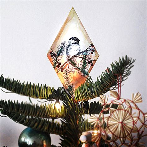 diy tree topper decoist