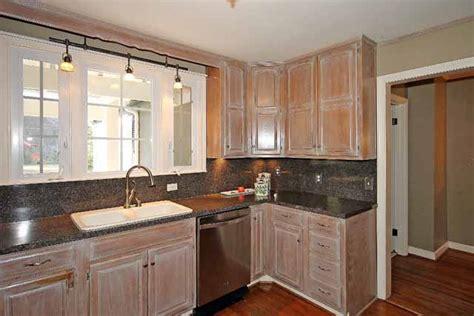 pickled oak kitchen cabinets rooms