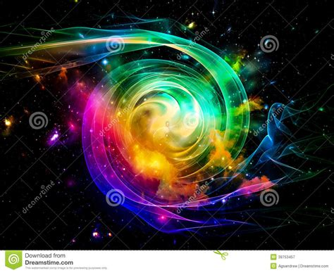 taking a stock of space lighting and design in your toward digital vortex stock photo image 39753457