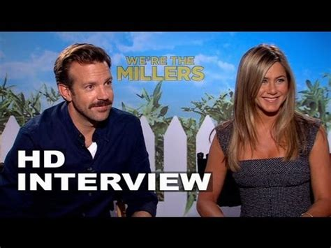 were the millers interview jason sudeikis jennifer we re the millers emma roberts and will poulter offici