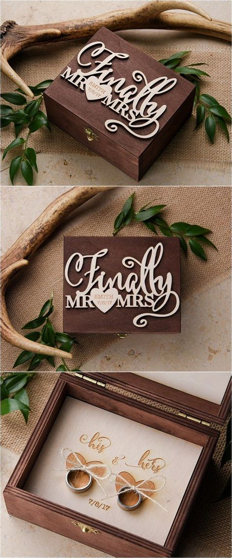 25 best ideas about ring boxes on engagement ring and wooden