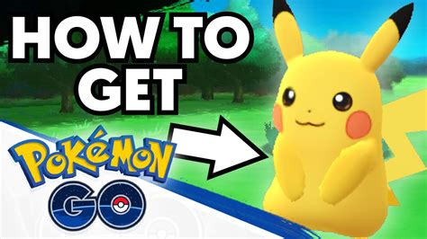 how to get how to get pikachu as your starter in pokemon go