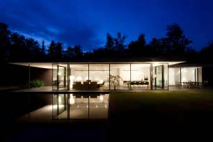 Ultra modern minimal glass house modern design by moderndesign org