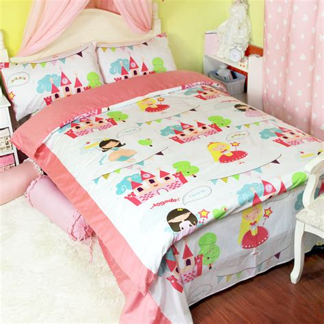cute bed sheets cute cartoon princess bedding sets girls twin full queen