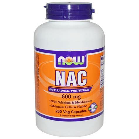supplement n acetyl cysteine nac n acetyl cysteine now foods dietary supplement