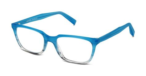 wilder eyeglasses in squall blue fade for women warby parker