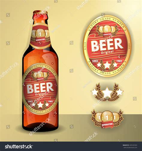 Transparent Beer Labels