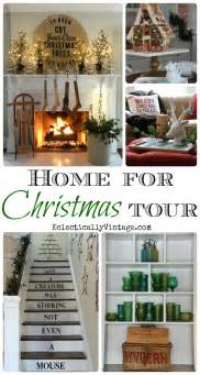 house tours home for christmas house tours