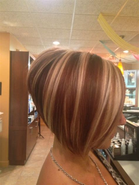 the swing short hairstyle short n the back and long in te frlnt at a angle short haircuts for thick hair the graduated bob cut if
