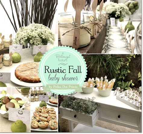 Rustic Baby Shower Theme by A Rustic Fall Baby Shower With A Pair Theme