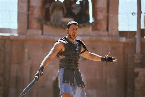gladiator film hero name gladiator quotes what we do in life echoes in eternity