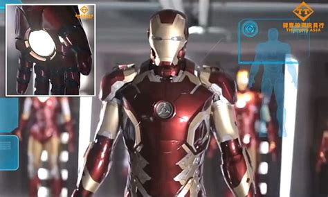 incredible life sized iron man suit action