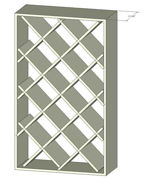 plans for building lattice wine rack find house plans