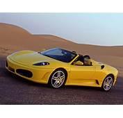 International Fast Cars Ferrari Spider Yellow