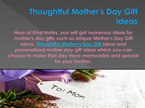 thoughtful s day gifts ppt personalized s day gifts powerpoint