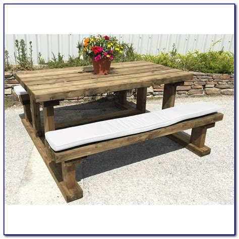picnic table seat cushions 36 inch bench seat cushions bench home design ideas