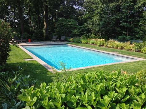 American Backyard Pools by Pool Remodel American Traditional Swimming Pool New