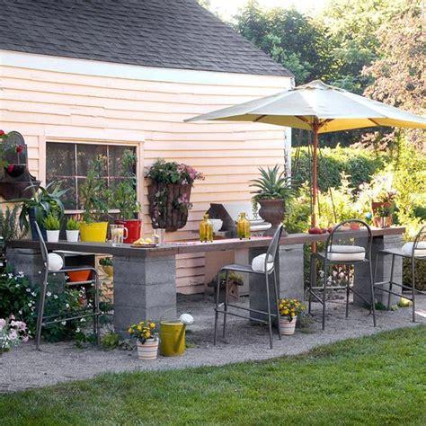 inexpensive outdoor kitchen ideas garden design ideas practical tips for the courtyard