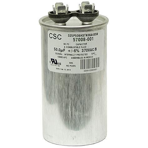 50 mfd ac motor run capacitor 50 mfd 370 vac run capacitor csc 325p506h37n36a4xsn motor run capacitors capacitors