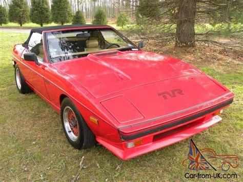1985 Tvr 280i 1985 Tvr 280i Targa Top Convertible Lo Lo Reserve Lo