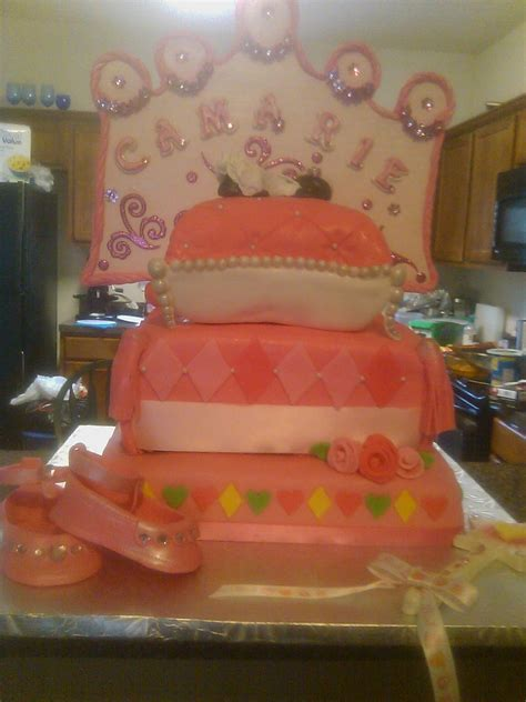 Princess Baby Shower Theme by Princess Theme Babyshower Cake Cakecentral