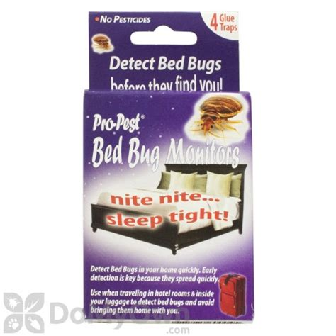 bed bug monitors jf oakes pro pest bed bug monitors