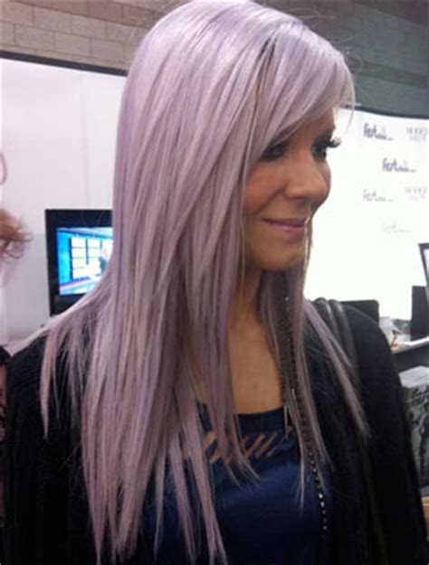 lavander hair formulas dj victory reveals her secret pastel color formula