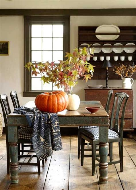 fall dining room antique shelf the nested design company 1000 images about autumn at the farmhouse on pinterest