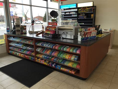 Convenience Store Racks by Handy Store Fixtures Sales Counter For Convenience Stores