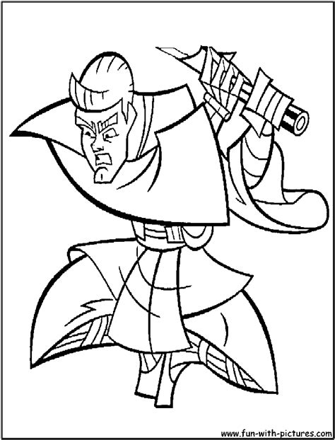 anakin skywalker coloring page