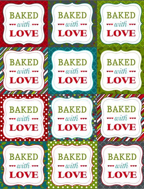 Printable Christmas Labels For Homemade Baking Worldlabel Blog Baked Goods Label Templates