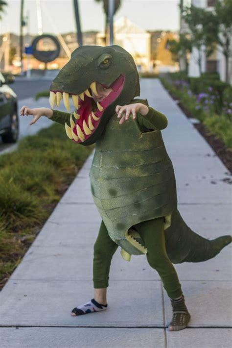 homemade  rex costume neatorama