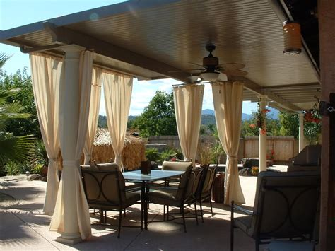 Aluminum Covered Patios by Aluminum Attached Solid Patio Cover Home Furniture Design