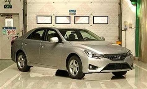 Toyota Market In China Toyota X Facelift For China Pakwheels