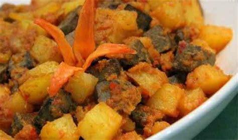 cara membuat sambal kentang goreng hati aneka bumbu masak dan resep sambal goreng kentang ati sapi