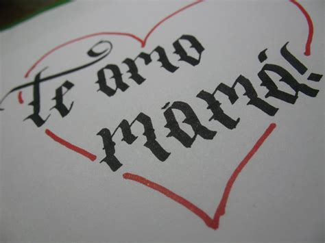 imagenes k digan te amo mucho caligraf 237 a te amo mam 225 youtube