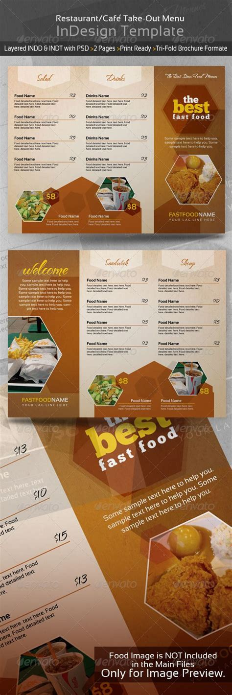 restaurant take out menu templates 49 best images about restaurant ideas on
