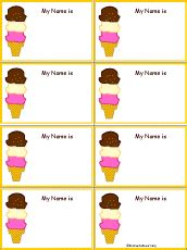 penguin nametags to print in color enchantedlearning com food name tags to print enchantedlearning com