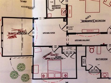 layout of meredith grey s house meredith s house grey s anatomy and private practice wiki