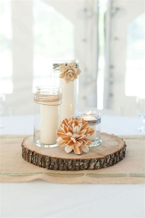 wood centerpiece best 25 wood wedding centerpieces ideas on wood themed wedding rustic theme