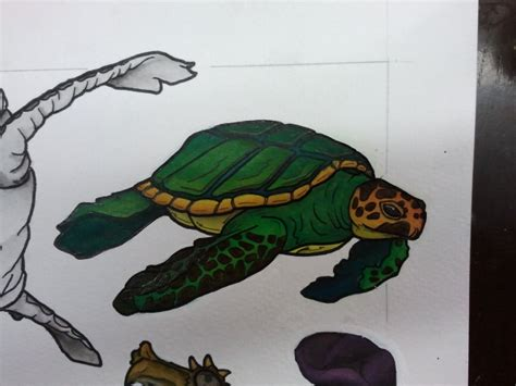 tattoo flash turtle tattoo flash coasting turtle by bass slinger on deviantart