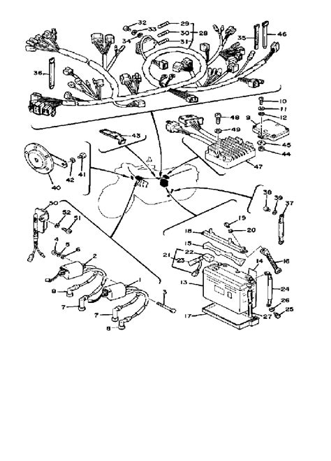 wiring diagrams for yamaha xs750 free wiring