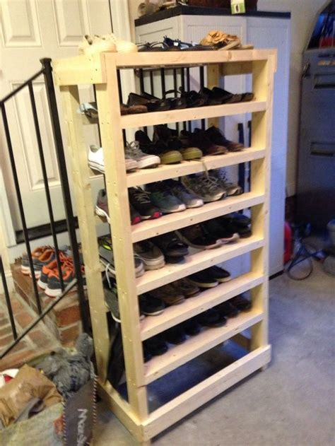 diy shoe rack wood diy wood shoe rack diy and crafts diy wood and lowes