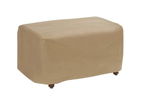 slipcovers for large ottomans protective covers weatherproof ottoman cover large tan
