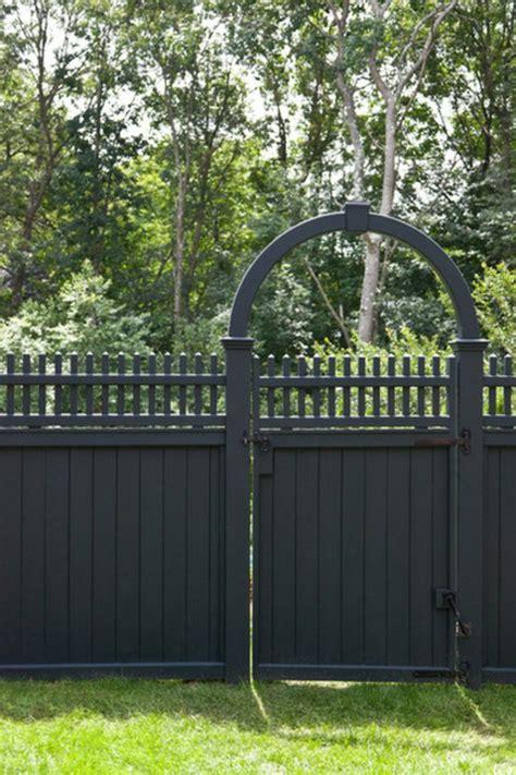 hängesessel für den garten zaun modern idee