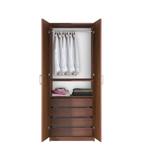 armoire closet bella hanging wardrobe armoire closet contempo space
