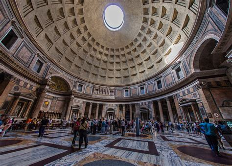 Ancient Interior by Pantheon The Ancient Building Traveldigg