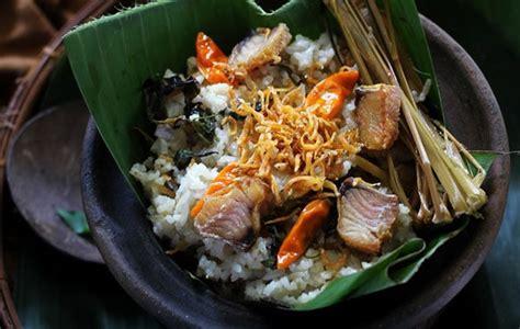 cara membuat nasi kuning khas sunda cara membuat nasi liwet khas sunda masak magic com